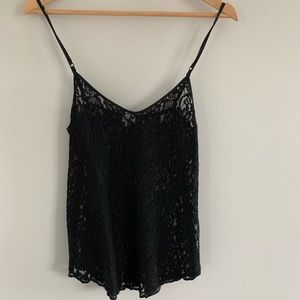 Wilfred Black Lace Camisole.